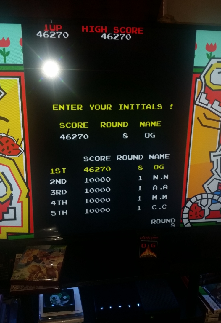 OriginalGamer: Dig Dug (Xbox 360) 46,270 points on 2017-10-30 00:53:07