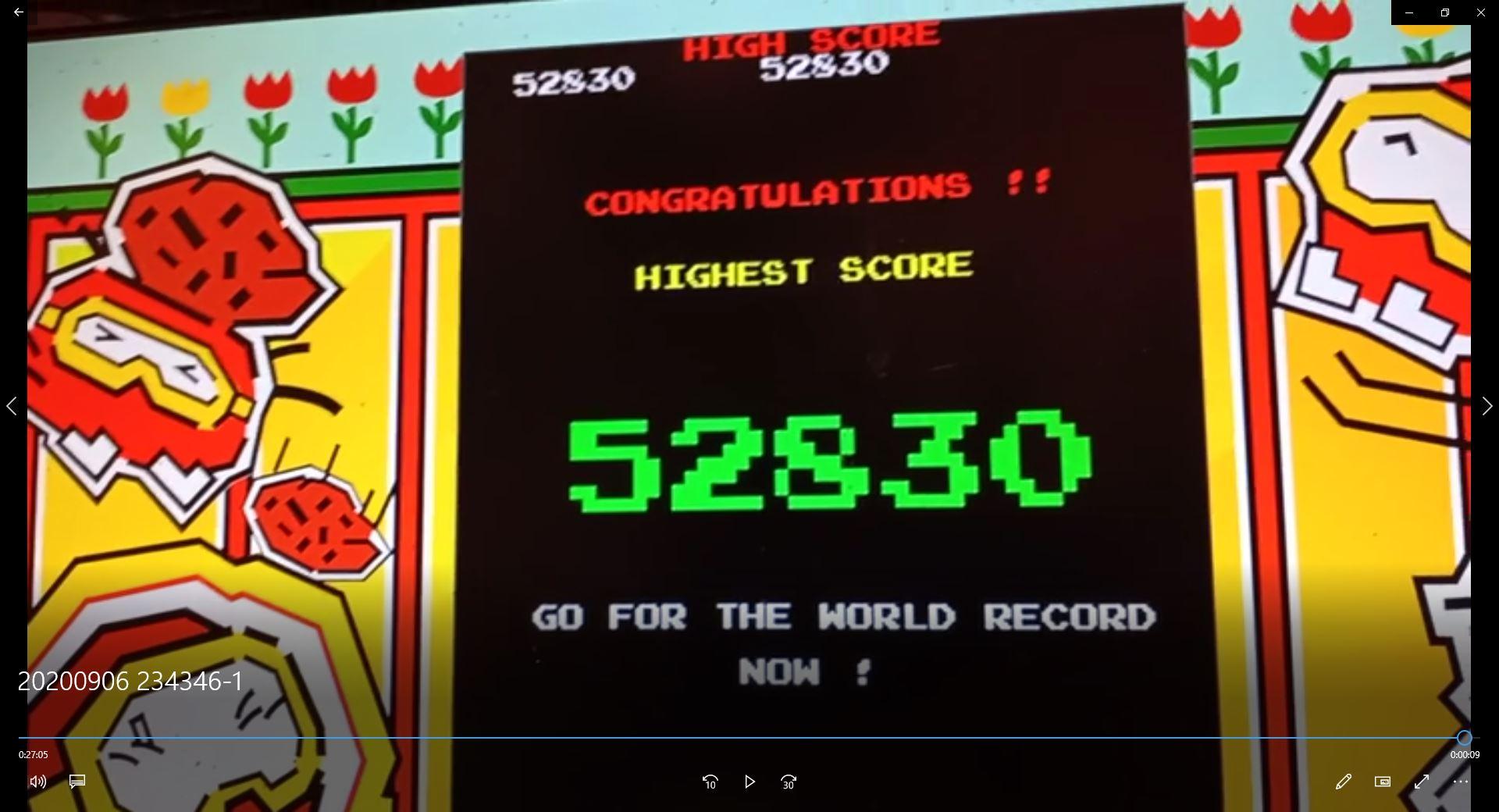 speedy4759123: Dig Dug (Xbox 360) 52,830 points on 2020-09-07 06:38:58