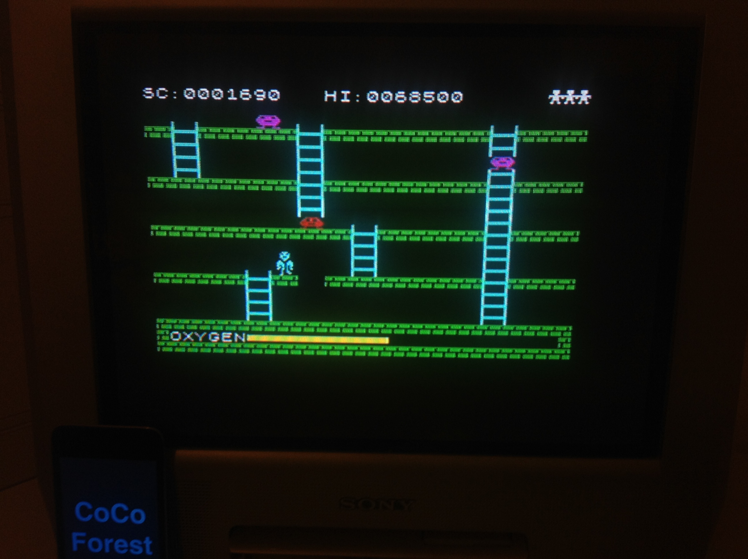 CoCoForest: Digger Dan (ZX Spectrum) 1,690 points on 2016-01-11 14:03:28