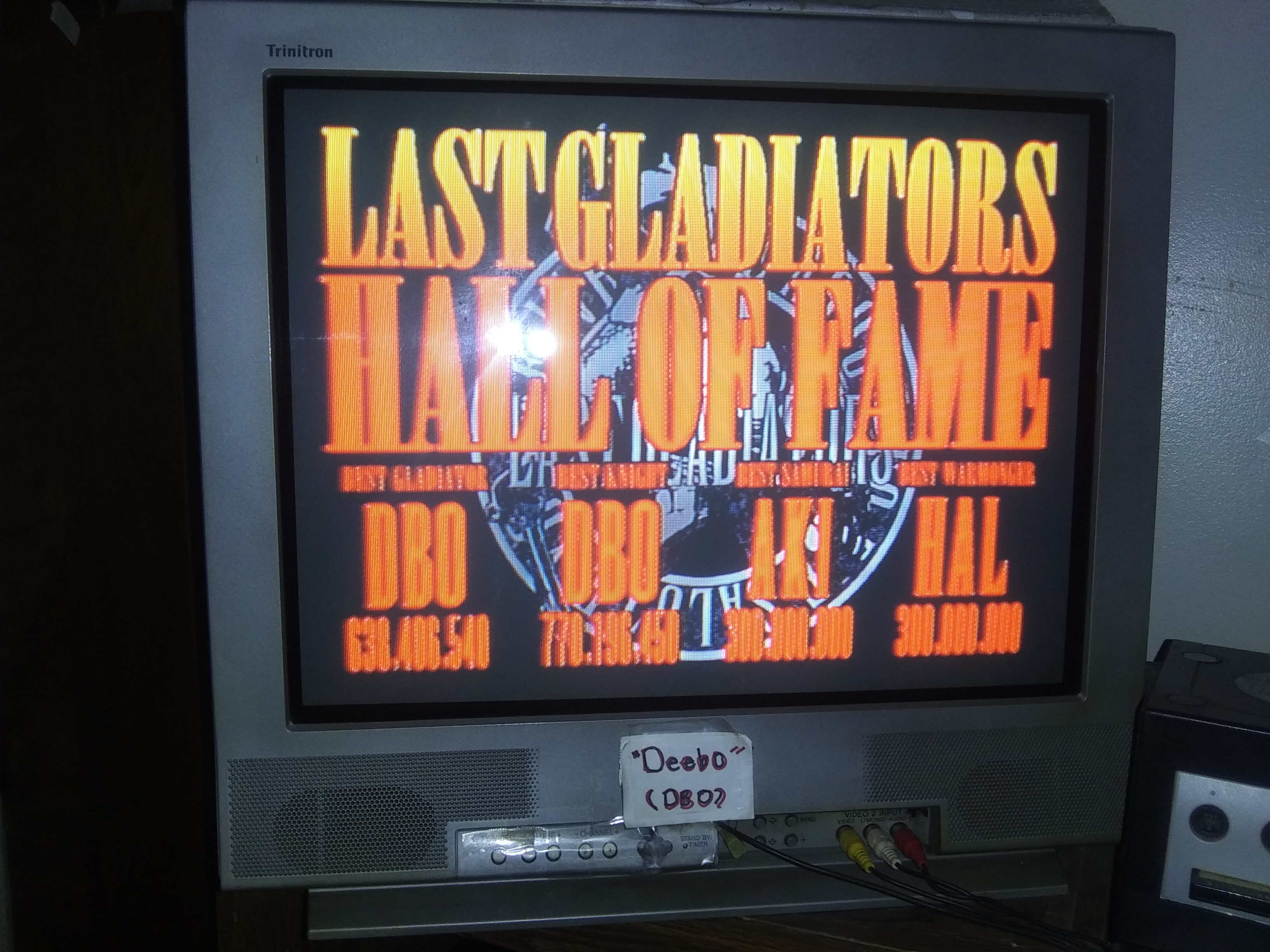 Deebo: Digital Pinball: Last Gladiators: Gladiators (Sega Saturn) 638,406,540 points on 2019-07-16 02:57:24