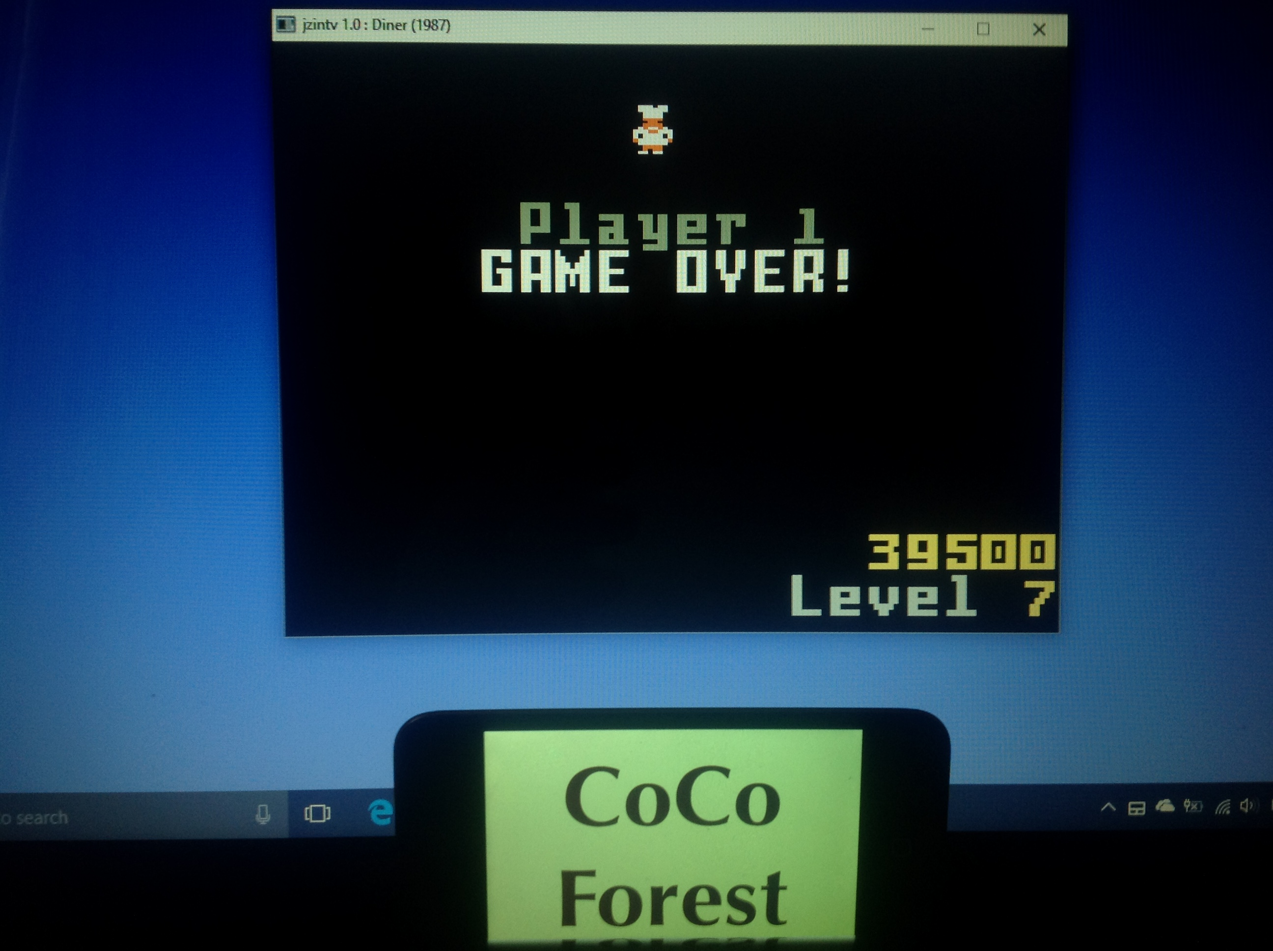 CoCoForest: Diner (Intellivision Emulated) 39,500 points on 2018-01-24 03:20:34