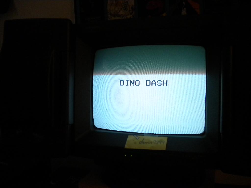 Dino Dash 254 points