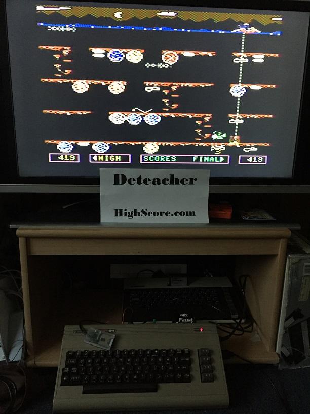 Deteacher: Dino Eggs (Commodore 64) 419 points on 2015-09-06 20:01:44