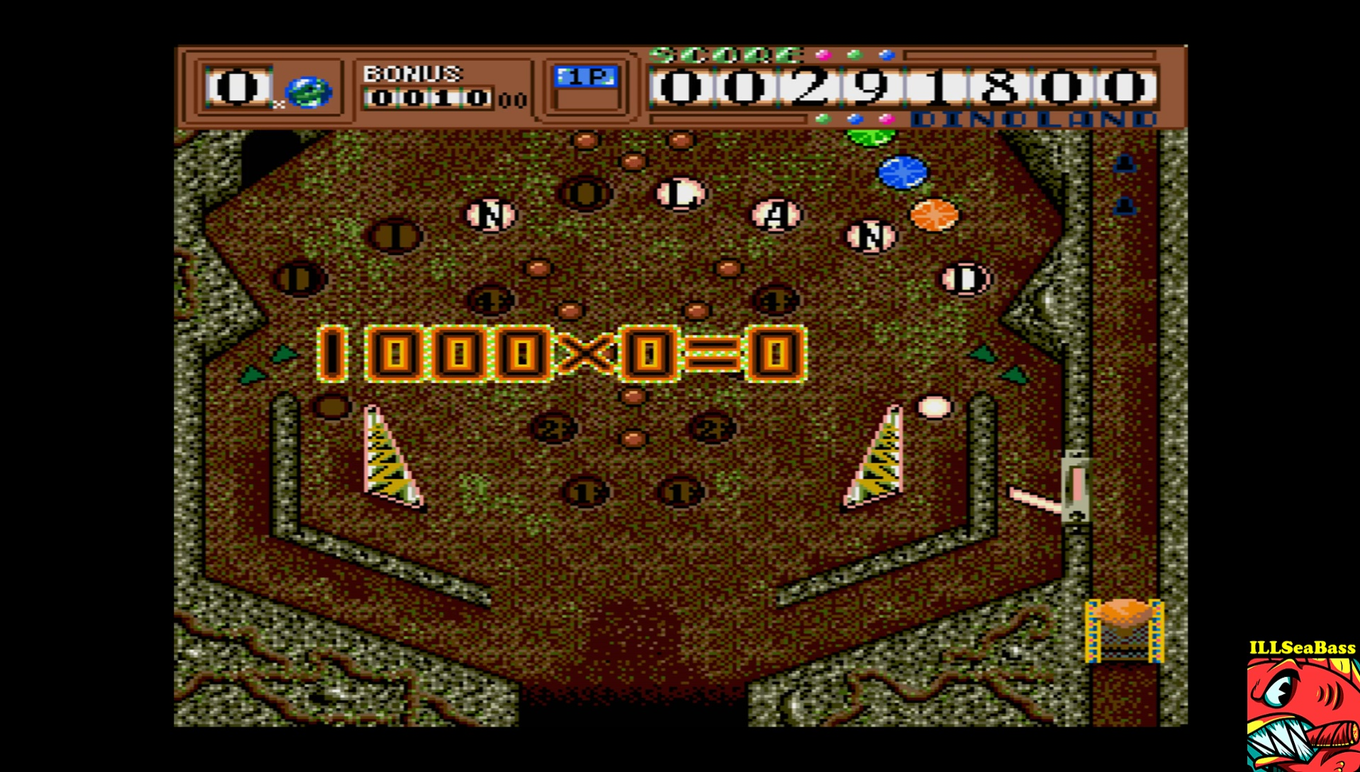 ILLSeaBass: Dino Land (Sharp X68000 Emulated) 291,800 points on 2017-06-25 23:59:05