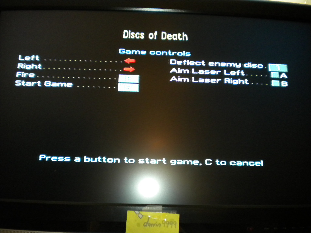 Discs of Death [Level 1] 40 points