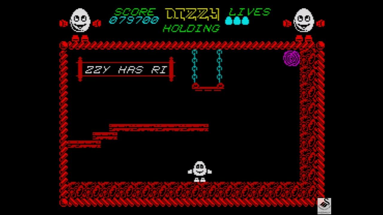 gazzhally: Dizzy [Codemasters] [100,000 Points Completion Bonus] (ZX Spectrum Emulated) 179,700 points on 2019-05-29 16:18:36