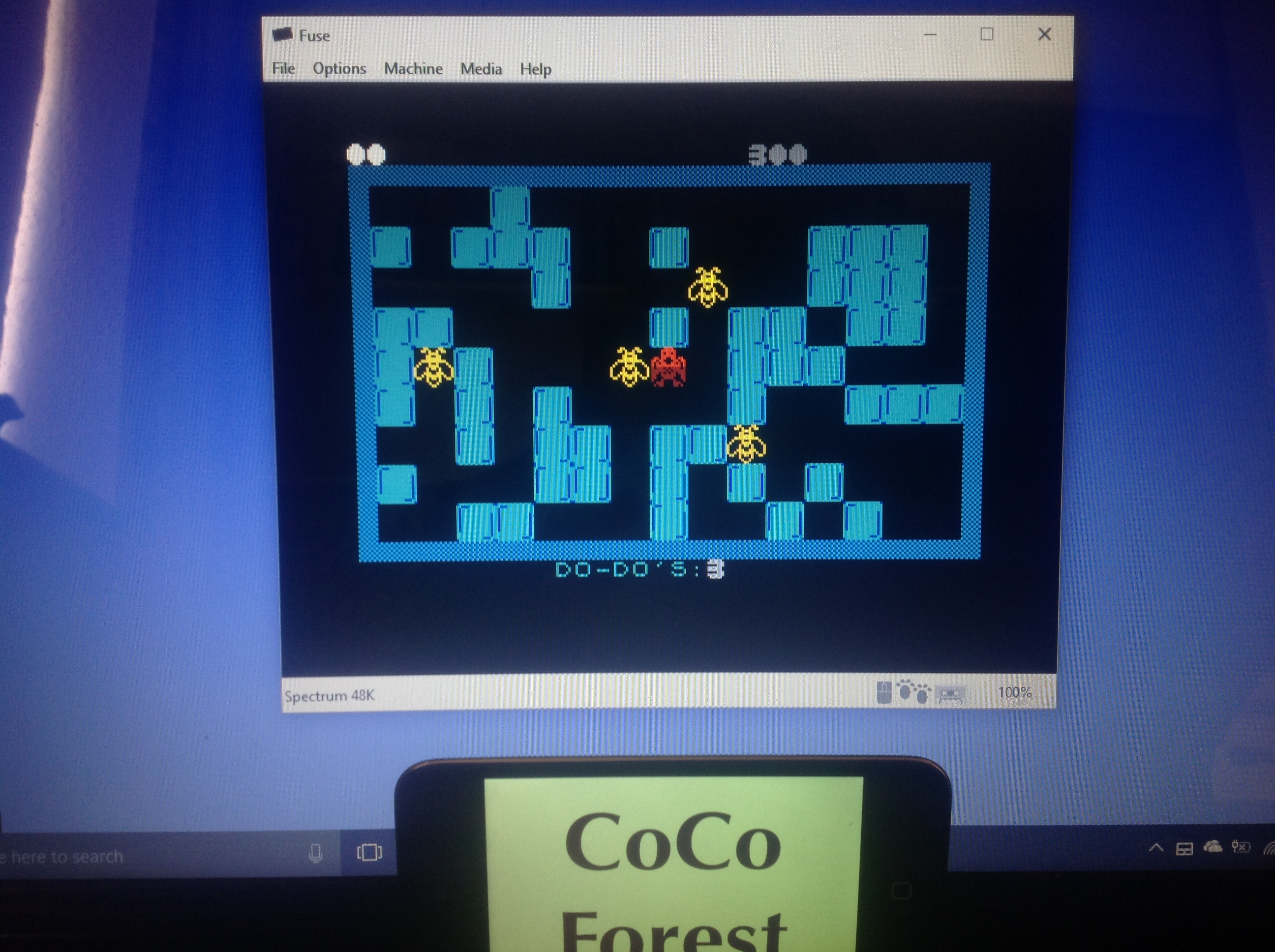 CoCoForest: DoDo (ZX Spectrum Emulated) 300 points on 2018-01-16 05:35:50