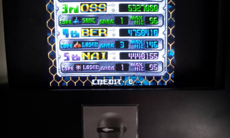 Larquey: DoDonPachi (Arcade Emulated / M.A.M.E.) 4,750,410 points on 2018-06-27 12:53:56