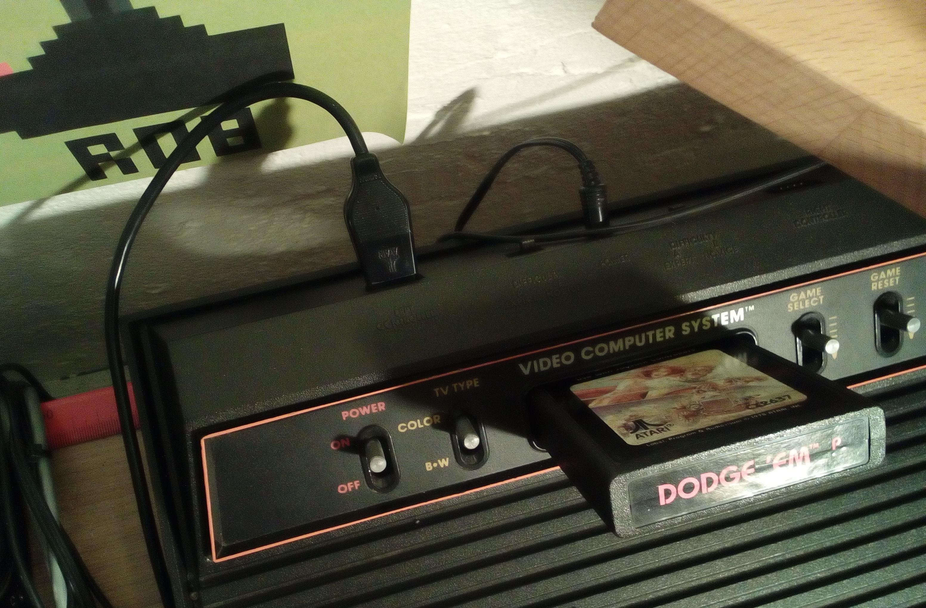 RetroRob: Dodge
