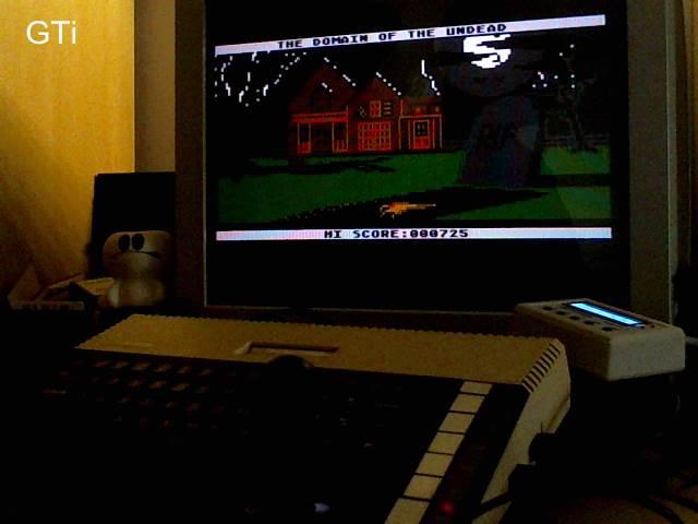 GTibel: Domain of the Undead (Atari 400/800/XL/XE) 725 points on 2017-09-18 01:20:43