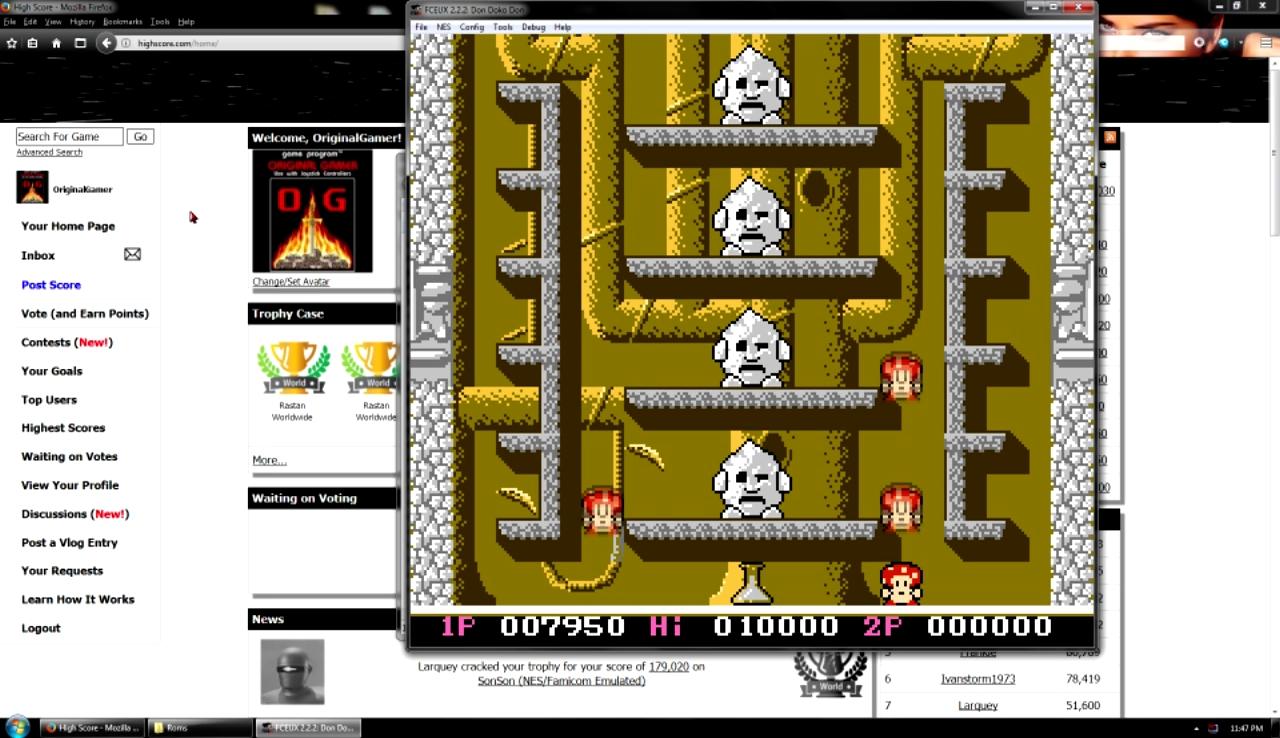 OriginalGamer: Don Doko Don (NES/Famicom Emulated) 7,950 points on 2017-10-29 23:24:24