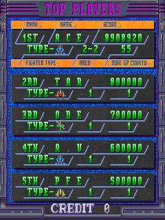 DonPachi: Japan Version [donpachij] 8,908,920 points