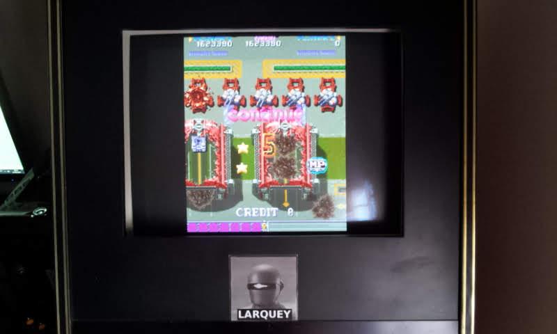 Larquey: DonPachi [donpachi] (Arcade Emulated / M.A.M.E.) 1,623,390 points on 2018-06-27 12:22:32