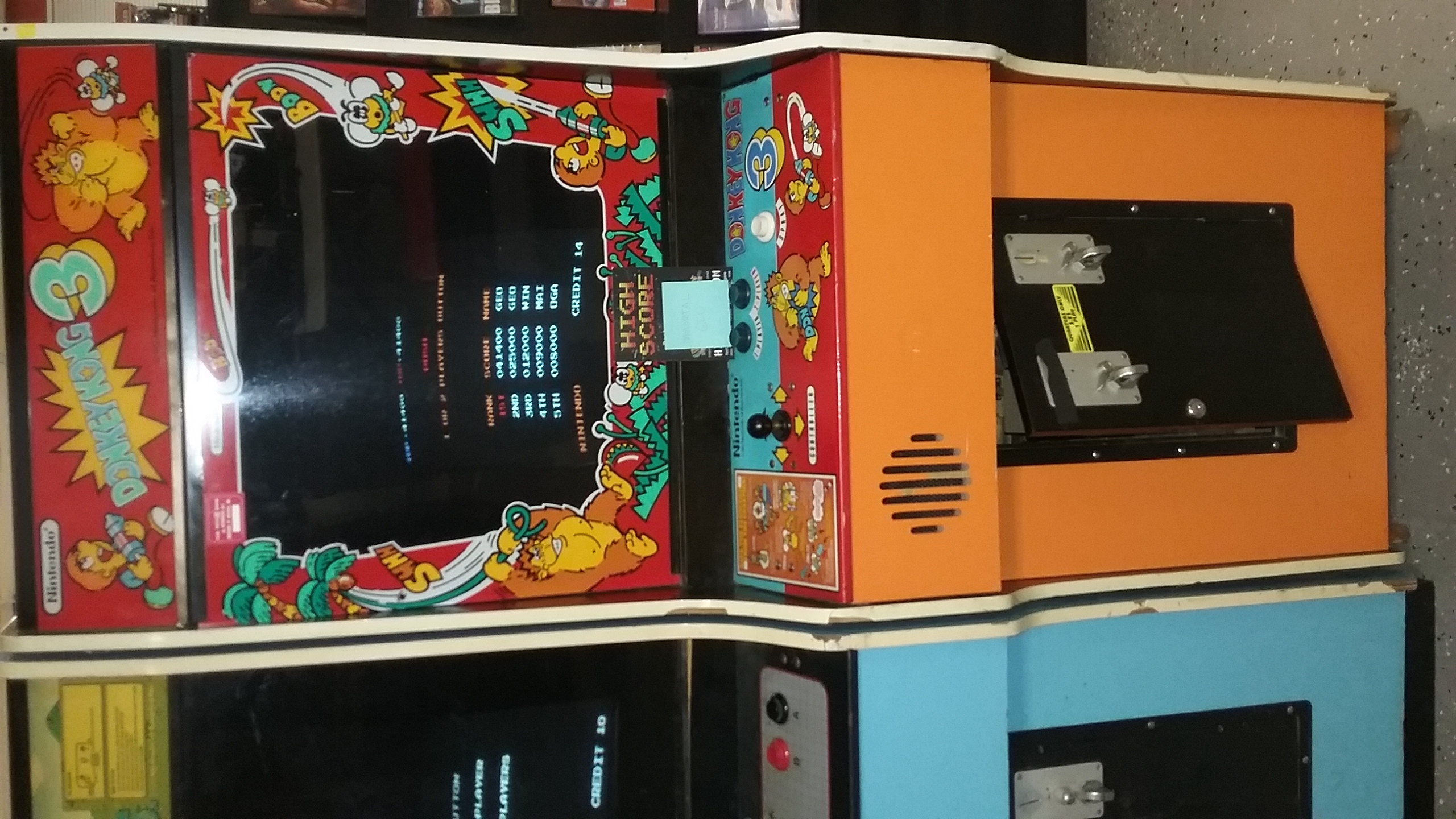 Immortalgeo: Donkey Kong 3 (Arcade) 41,400 points on 2016-12-05 16:39:54