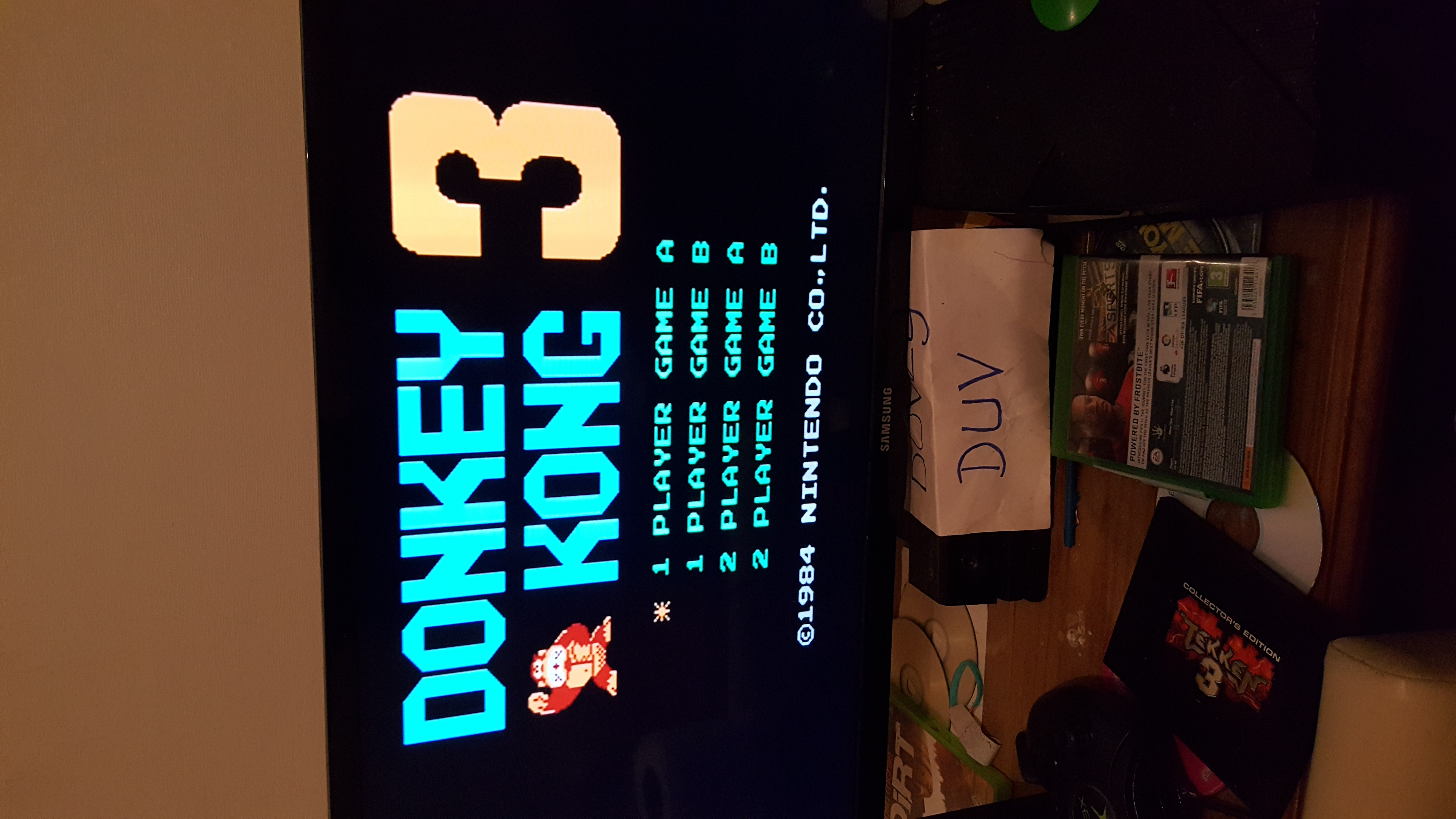 dovey: Donkey Kong 3: Game A (NES/Famicom Emulated) 155,500 points on 2016-12-06 13:31:08