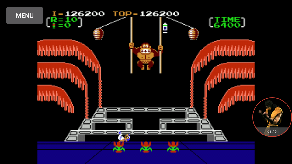 omargeddon: Donkey Kong 3: Game A (NES/Famicom Emulated) 126,200 points on 2017-12-30 22:12:05