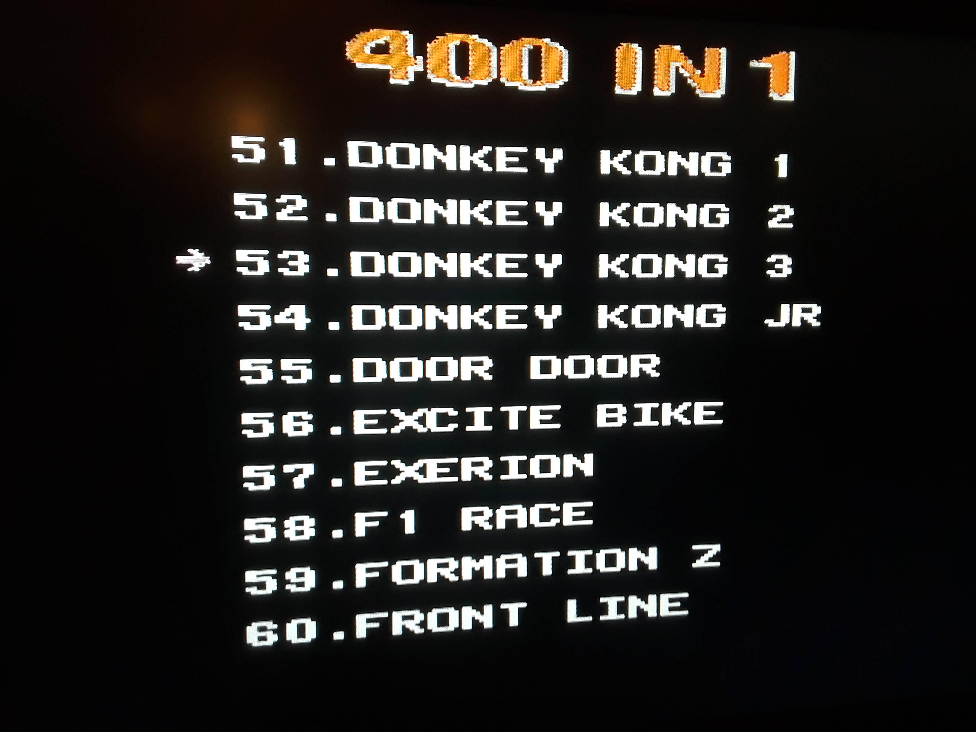 Donkey Kong 3: Game A 9,300 points