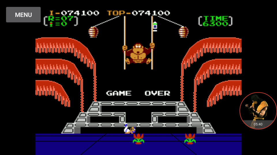 omargeddon: Donkey Kong 3: Game B (NES/Famicom Emulated) 74,100 points on 2017-12-30 22:34:45