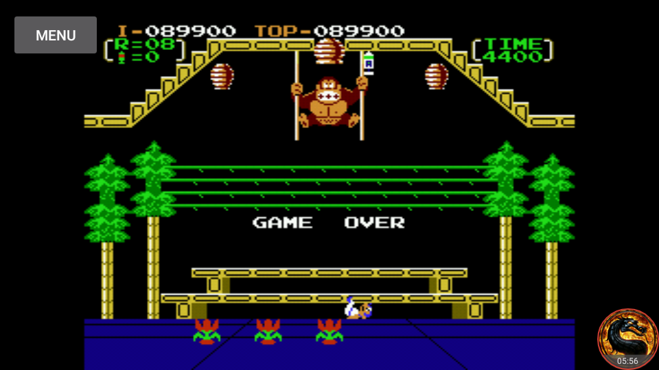 omargeddon: Donkey Kong 3: Game B (NES/Famicom Emulated) 89,900 points on 2018-08-25 19:15:33