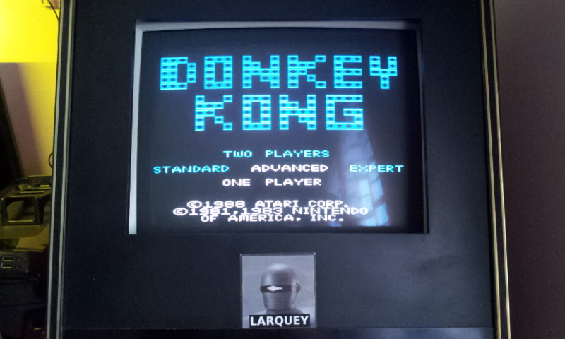 Larquey: Donkey Kong: Advanced (Atari 7800 Emulated) 16,200 points on 2017-12-10 04:53:25