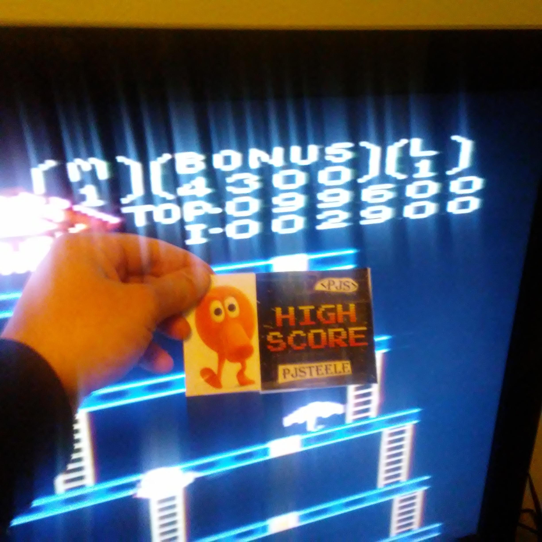 Donkey Kong: Advanced 99,600 points