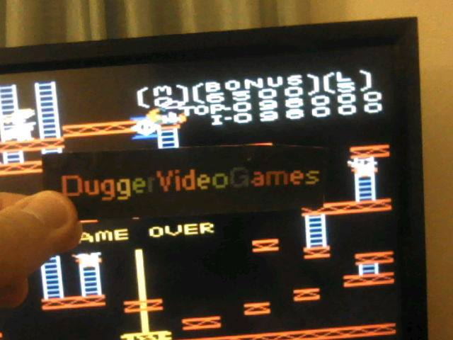 DuggerVideoGames: Donkey Kong: Advanced (Atari 7800 Emulated) 98,000 points on 2017-12-28 00:20:42