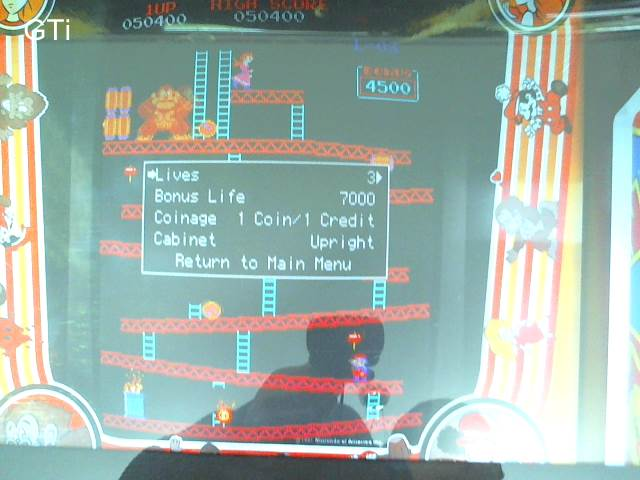 GTibel: Donkey Kong (Arcade Emulated / M.A.M.E.) 50,400 points on 2017-05-13 10:54:37