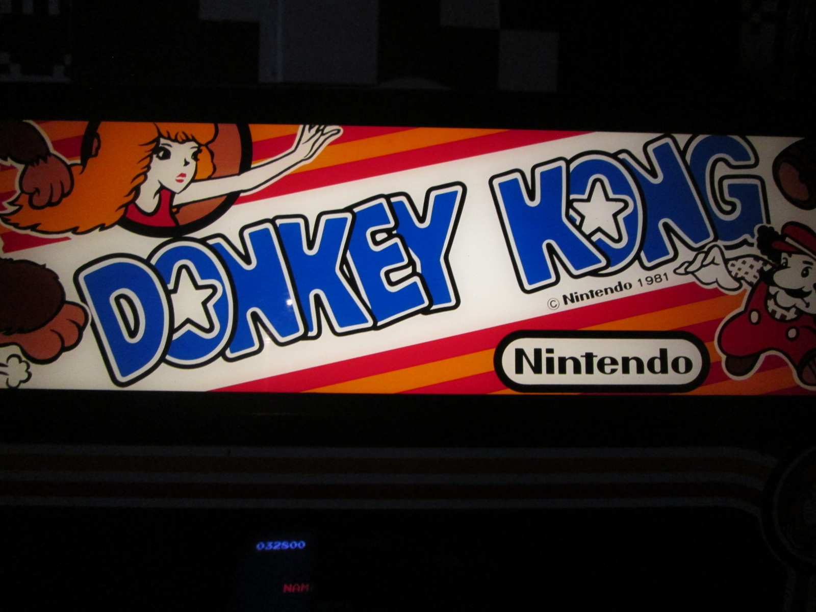 ed1475: Donkey Kong (Arcade) 32,800 points on 2016-08-28 16:17:00
