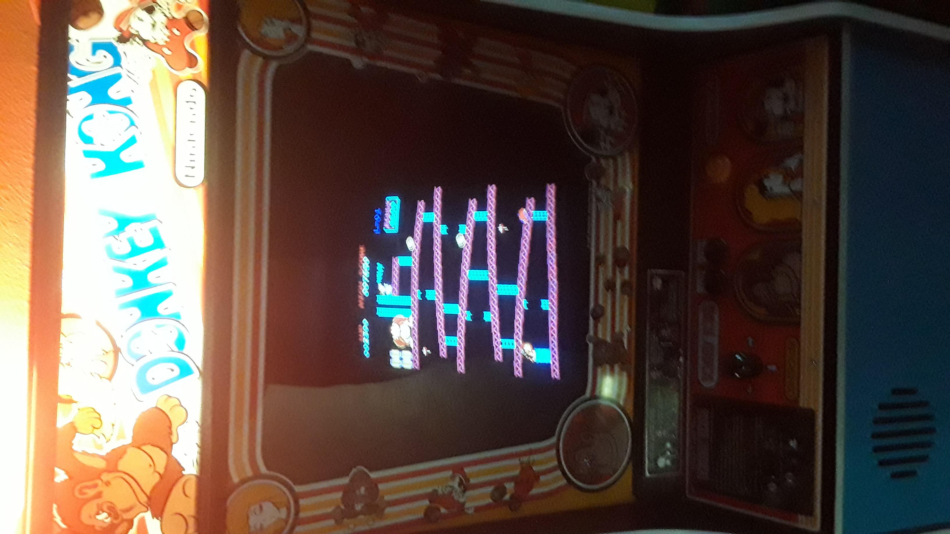 JML101582: Donkey Kong (Arcade) 2,300 points on 2019-10-23 15:58:23