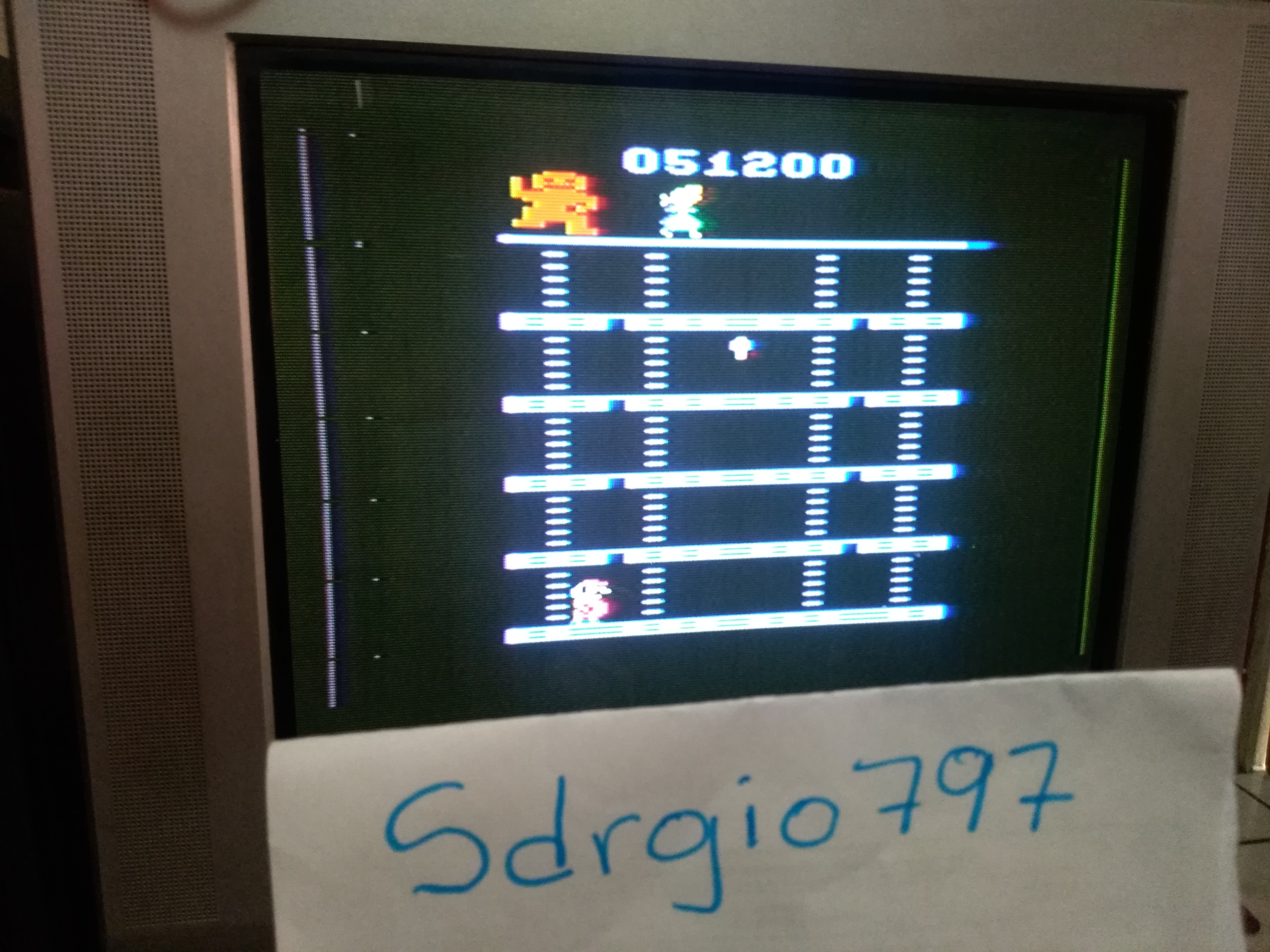 Donkey Kong 51,200 points