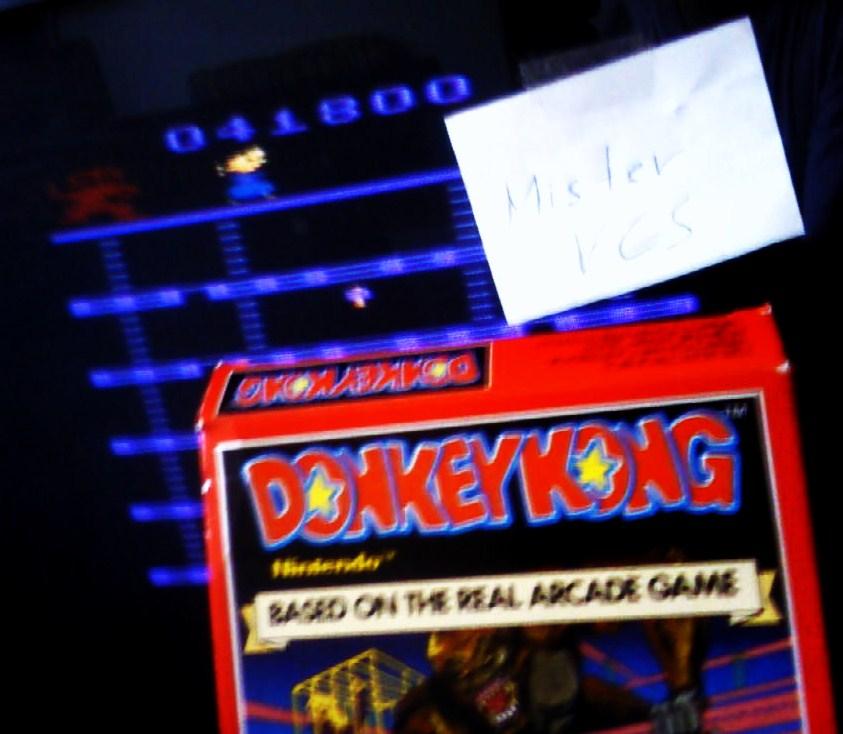 MisterVCS: Donkey Kong (Atari 2600 Novice/B) 41,800 points on 2016-01-30 03:23:26