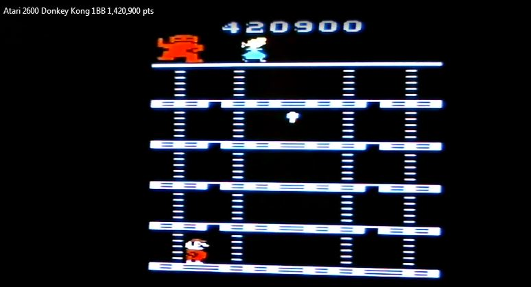 nads: Donkey Kong (Atari 2600 Novice/B) 1,420,900 points on 2016-03-27 07:52:31