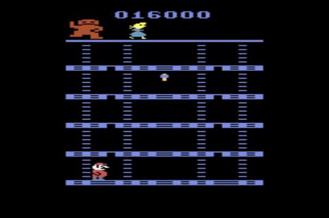 GAMES: Donkey Kong (Atari 2600 Novice/B) 16,000 points on 2019-12-28 21:11:05