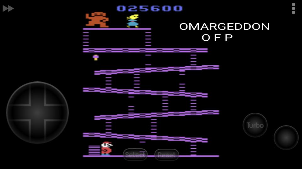 omargeddon: Donkey Kong (Atari 2600 Emulated Novice/B Mode) 25,600 points on 2016-09-18 23:59:02