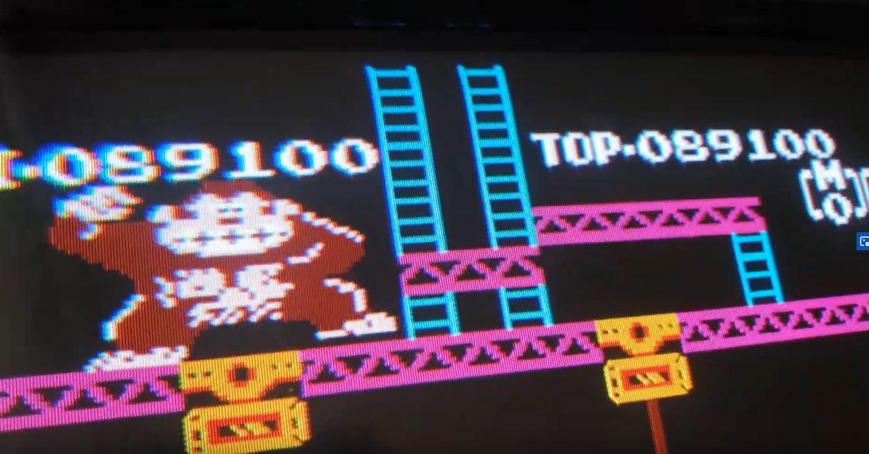 JES: Donkey Kong Classics: Donkey Kong [Game B] (NES/Famicom Emulated) 89,100 points on 2020-08-13 00:24:17