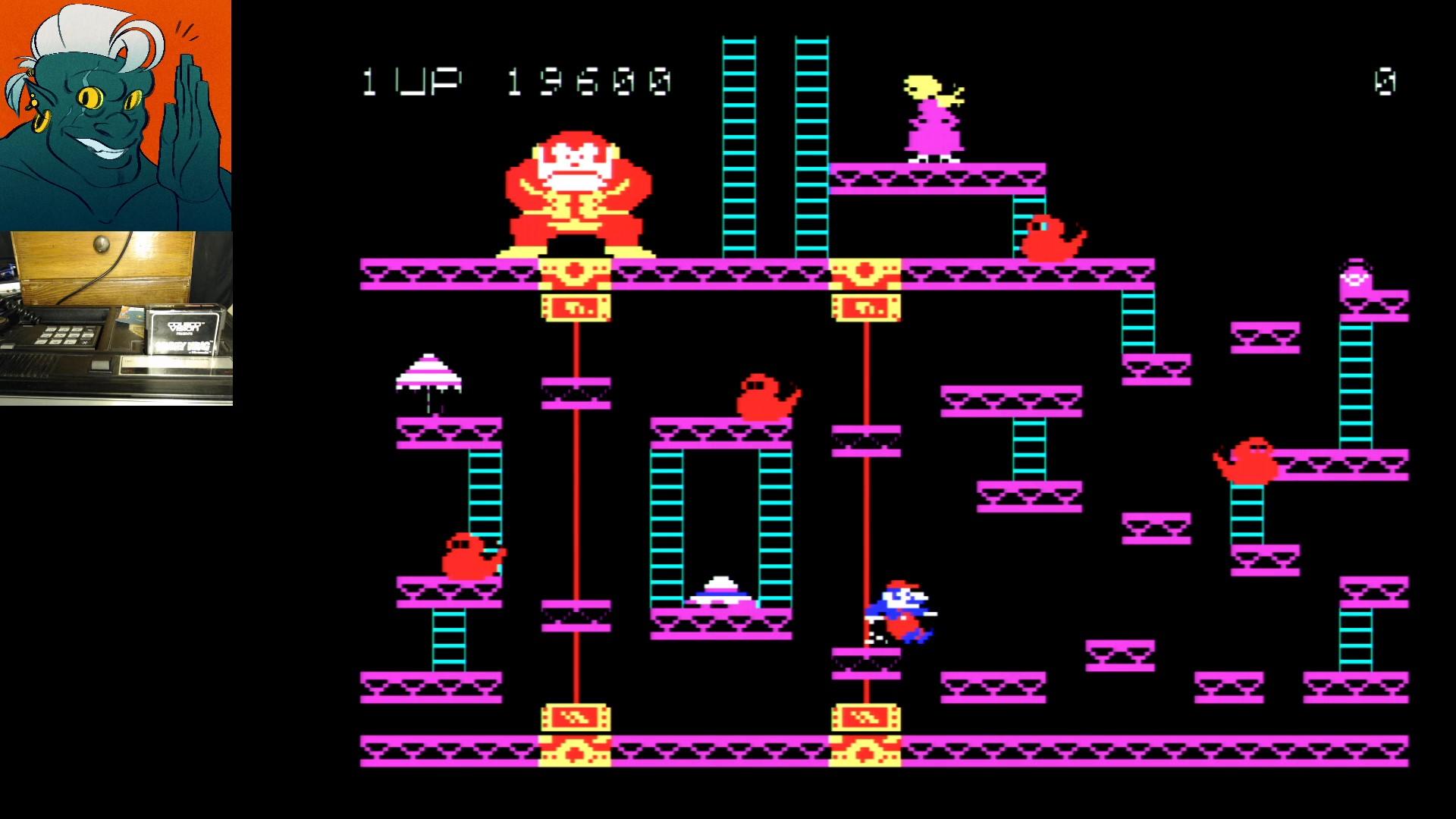 Donkey Kong 119,600 points