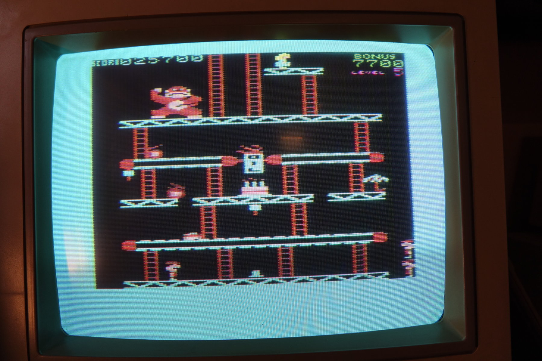 plus4punk: Donkey Kong (Commodore VIC-20) 25,700 points on 2020-06-21 13:20:36