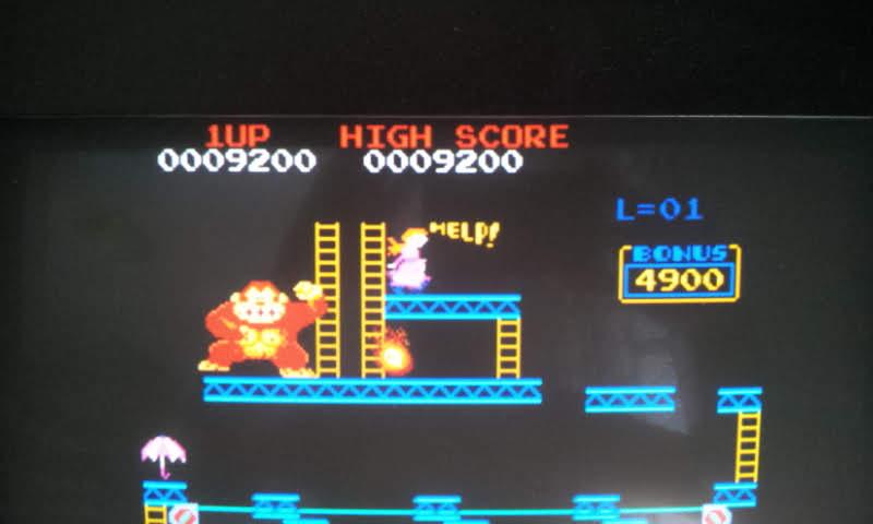 Larquey: Donkey Kong II: Jumpman Returns [dkongx] (Arcade Emulated / M.A.M.E.) 9,200 points on 2018-06-27 11:58:53
