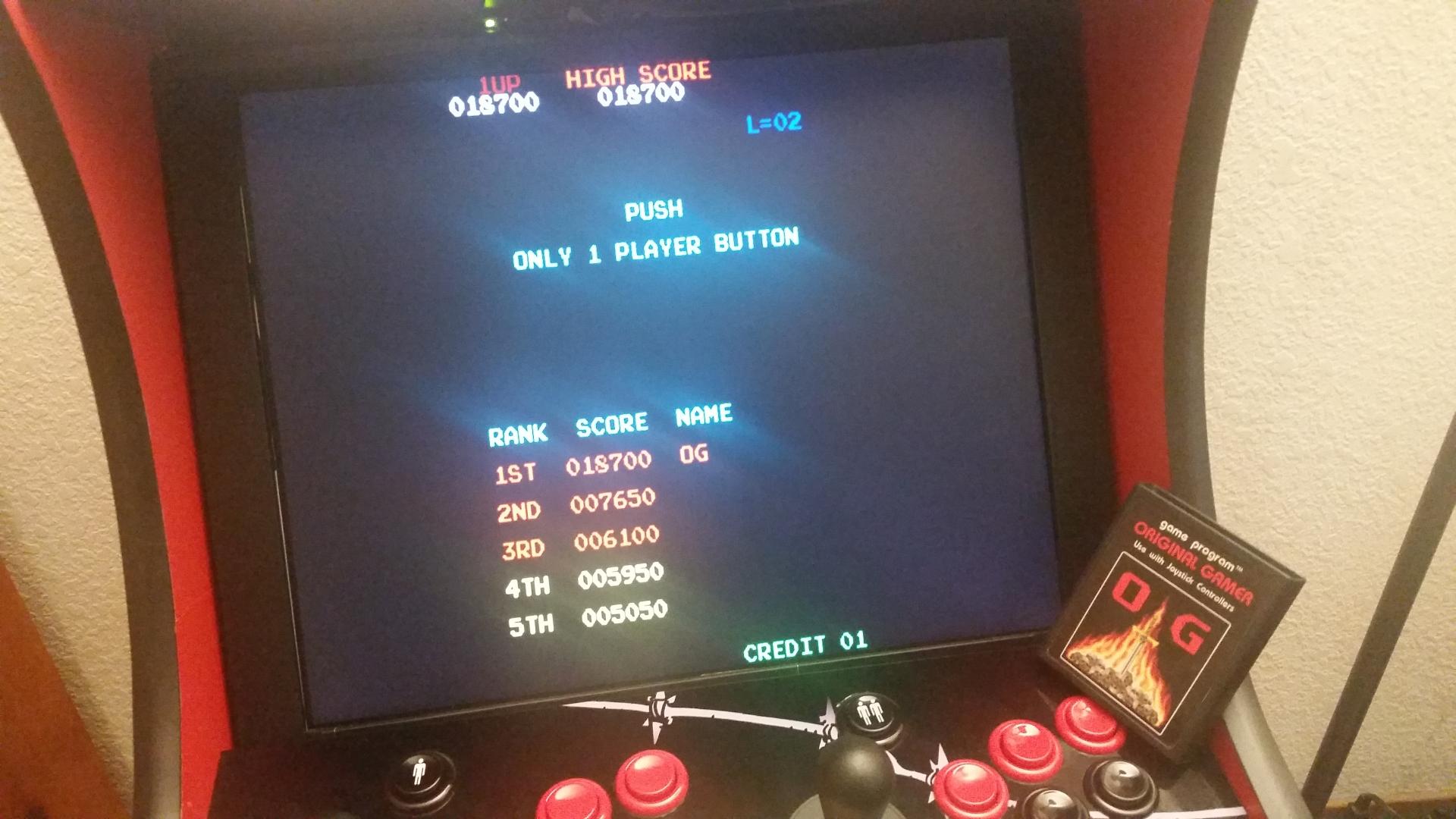 OriginalGamer: Donkey Kong (Jamma Pandora