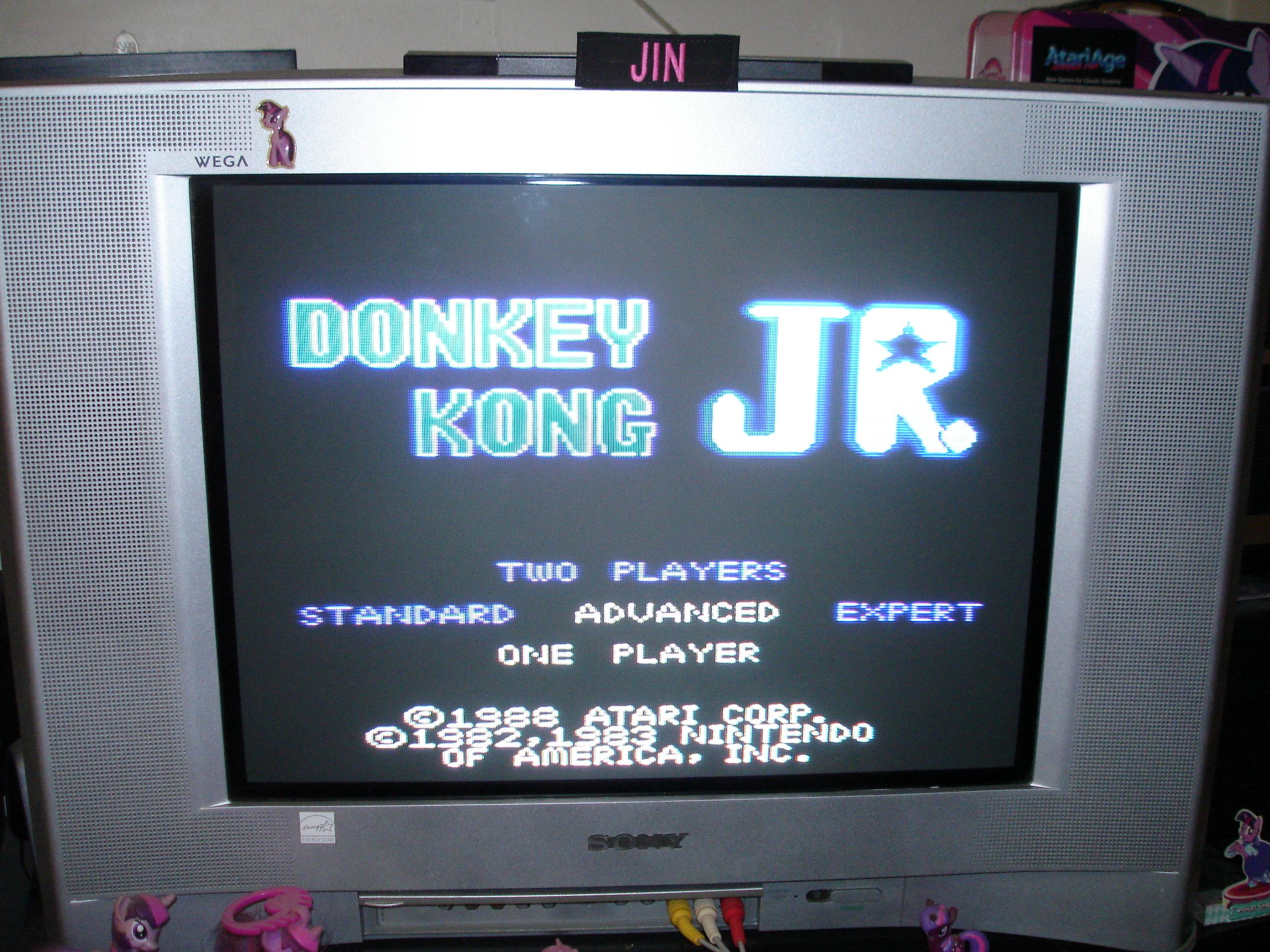 Donkey Kong Jr: Advanced 88,700 points
