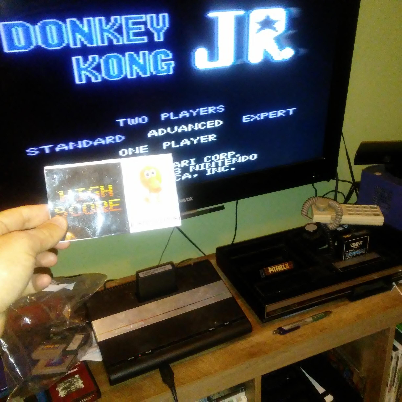 Donkey Kong Jr: Advanced 25,900 points