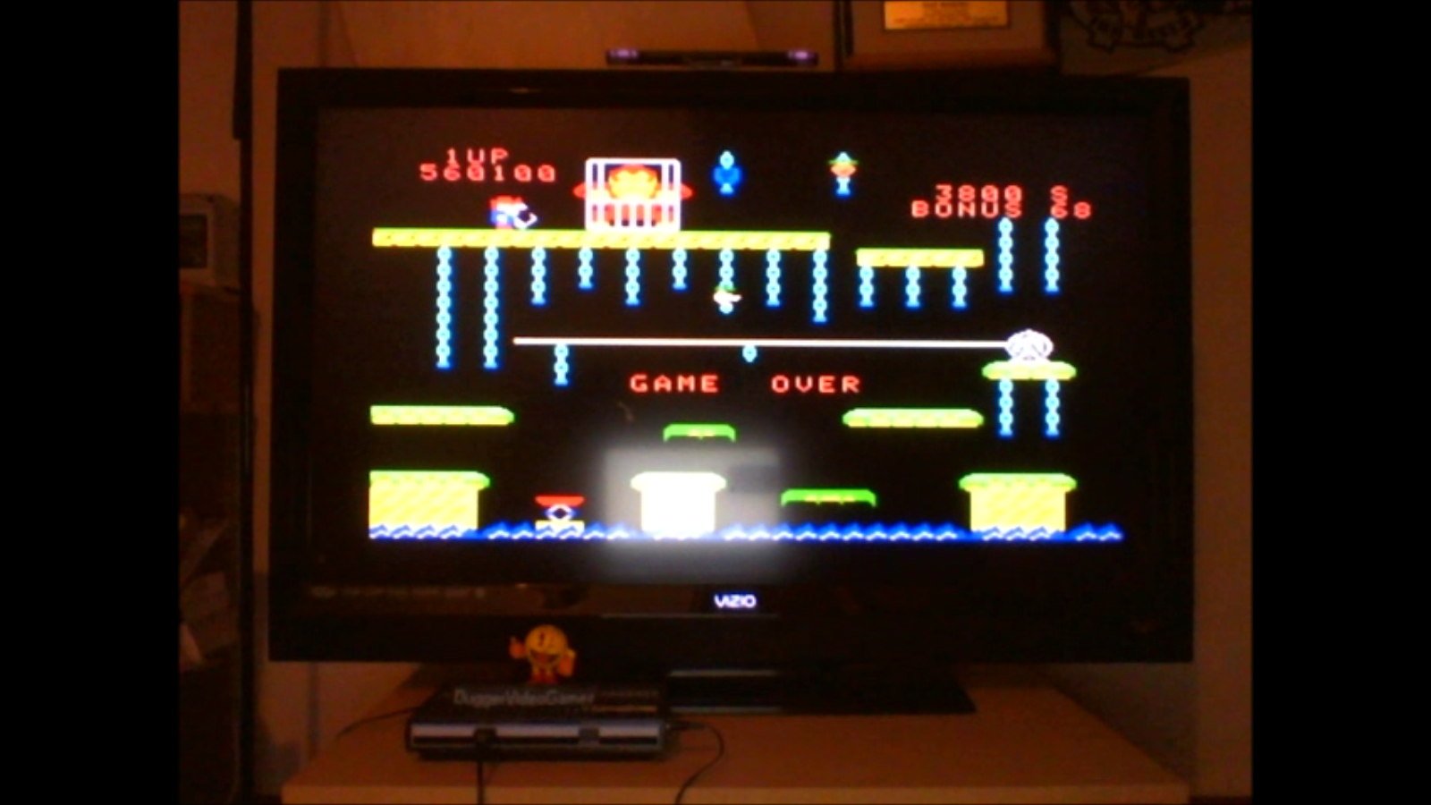 DuggerVideoGames: Donkey Kong Jr (Colecovision Emulated) 560,100 points on 2016-09-29 02:04:29