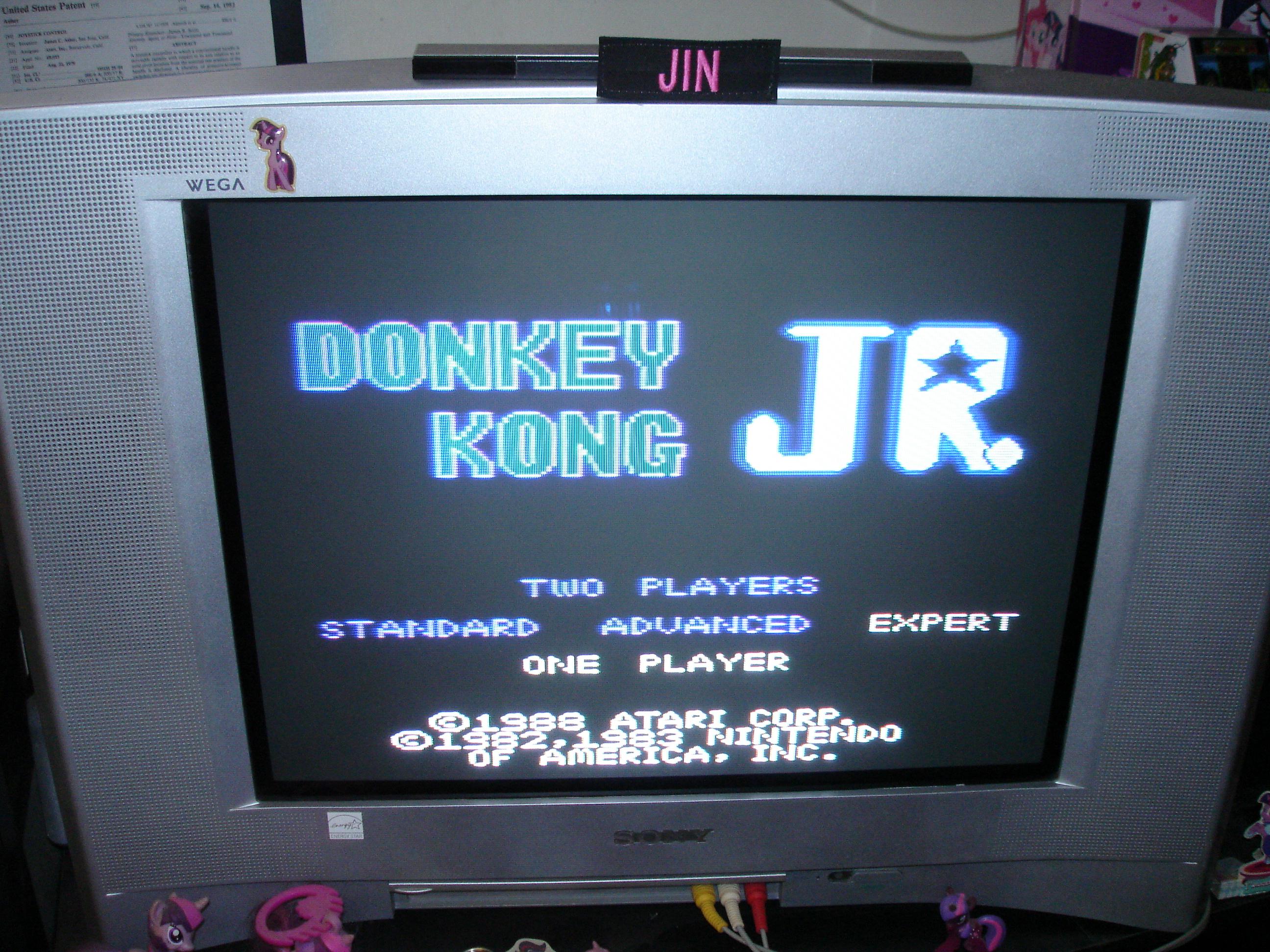 Donkey Kong Jr: Expert 88,000 points