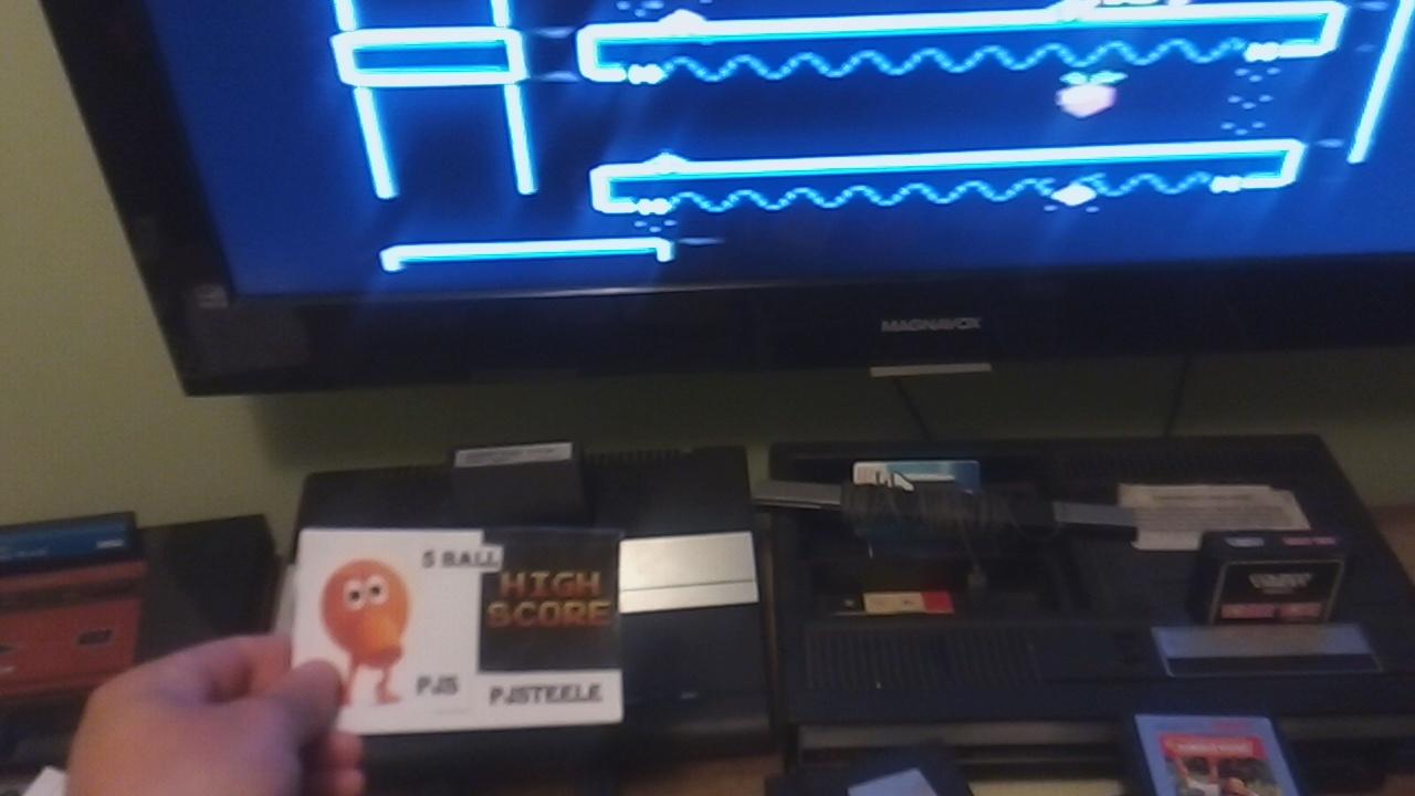 Pjsteele: Donkey Kong Jr: Expert (Atari 7800) 128,100 points on 2019-04-25 07:56:36