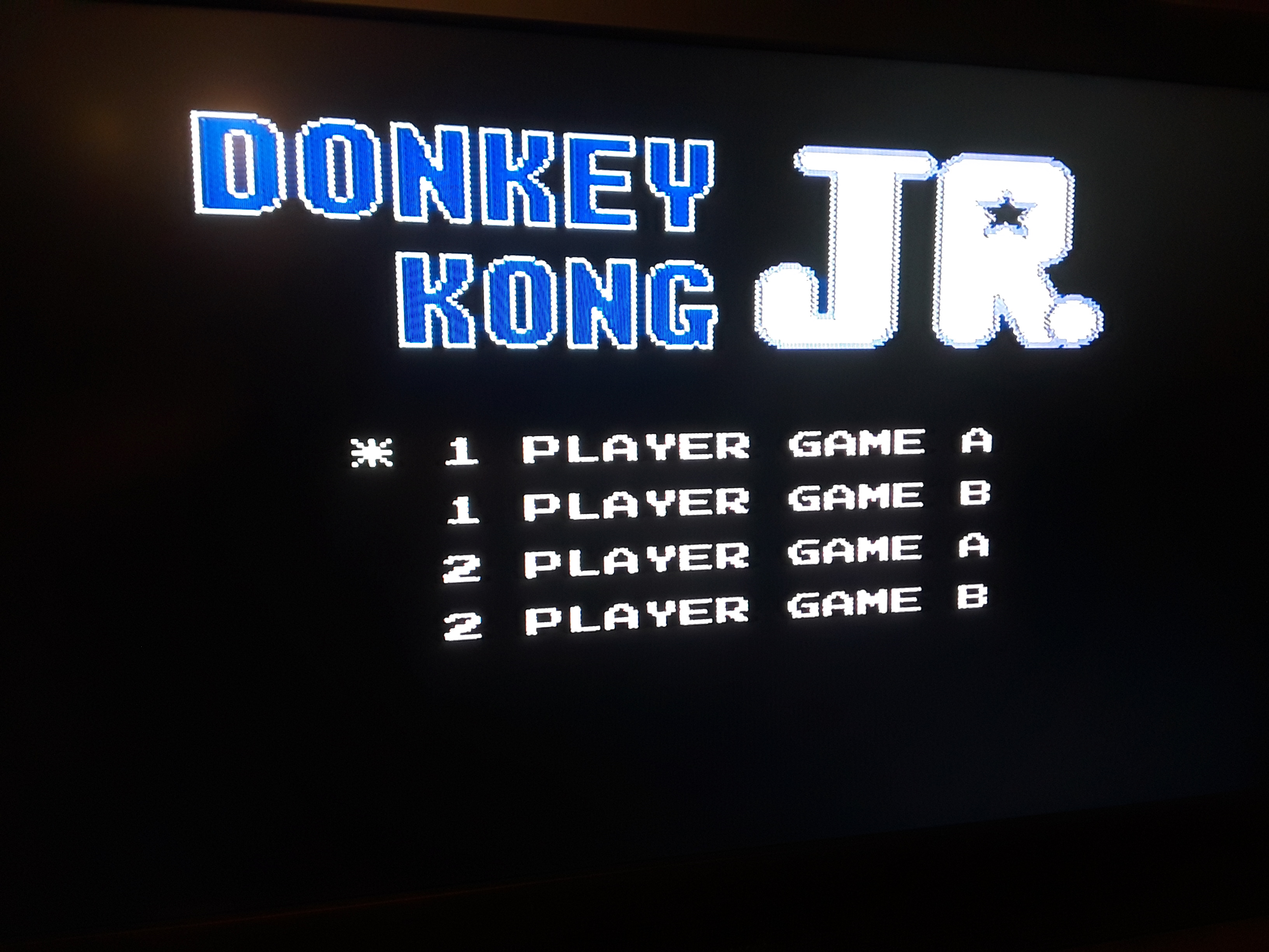 Donkey Kong Jr 800 points
