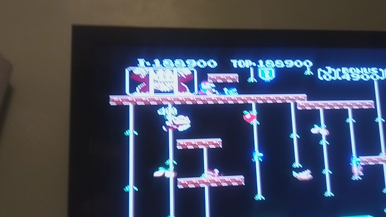 Pjsteele: Donkey Kong Jr (NES/Famicom Emulated) 188,900 points on 2019-12-13 23:45:41