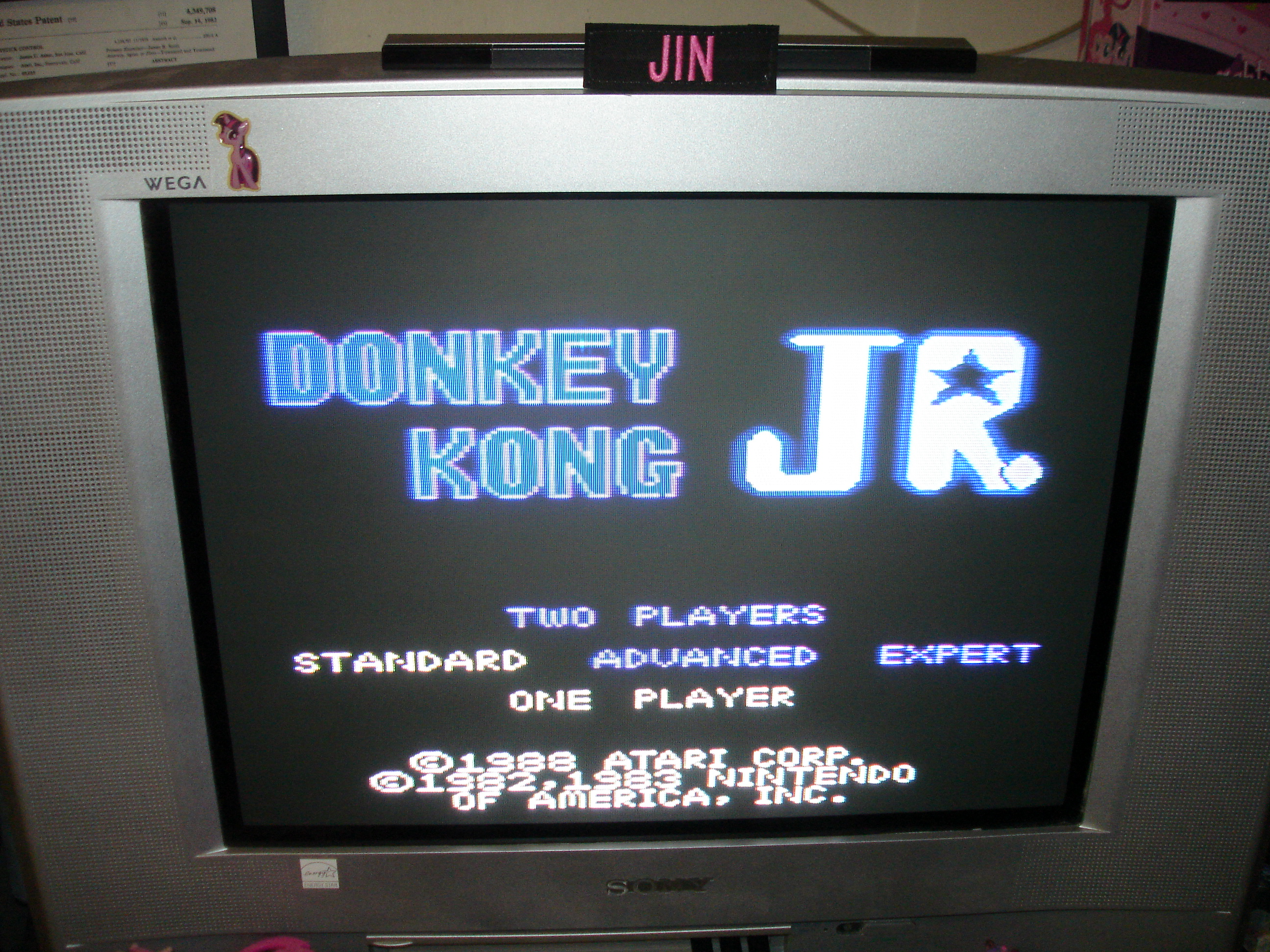 Donkey Kong Jr: Standard 142,900 points