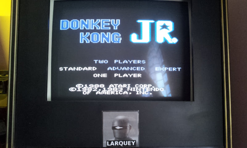 Larquey: Donkey Kong Jr: Standard (Atari 7800 Emulated) 15,100 points on 2017-12-10 05:24:25