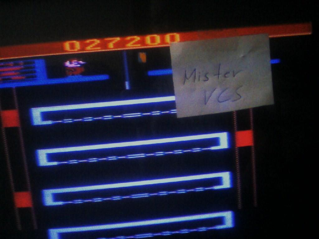 MisterVCS: Donkey Kong Junior (Atari 2600) 27,200 points on 2016-02-03 02:03:15