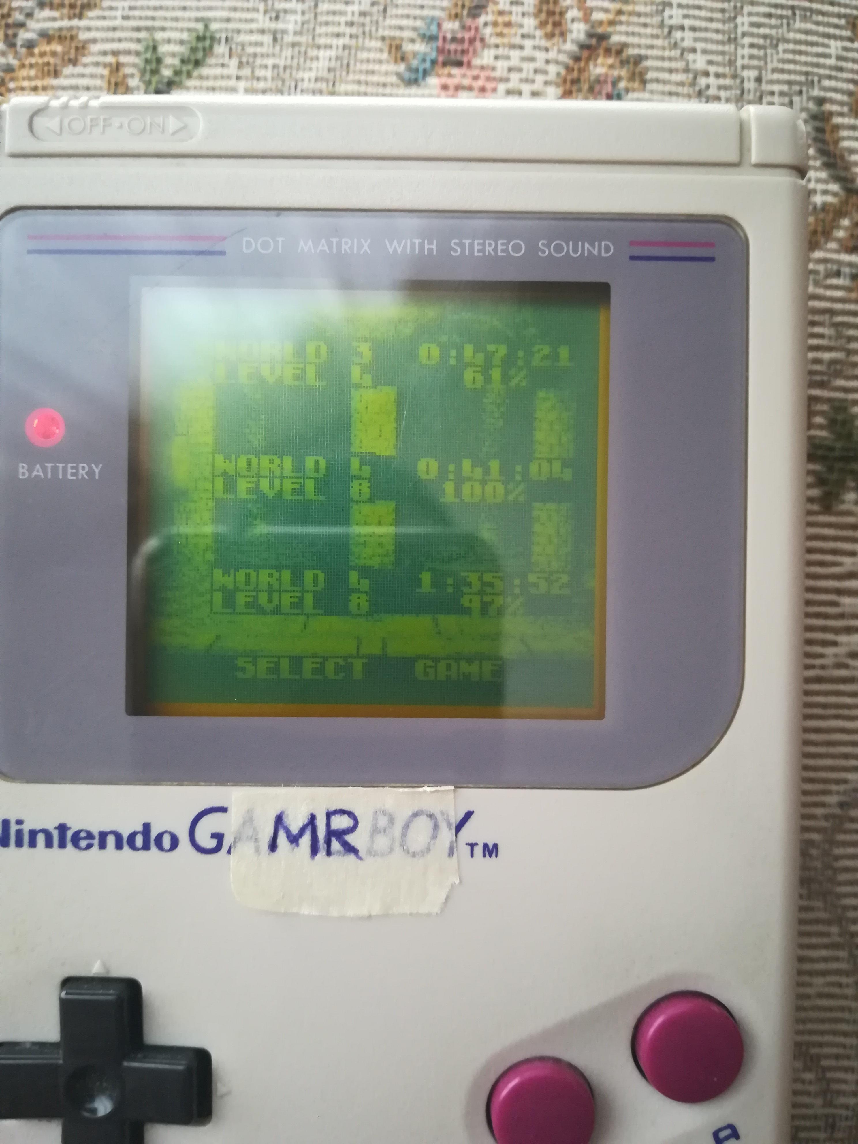 MartinoRagosa: Donkey Kong Land [Speed Run] (Game Boy) 0:41:04 points on 2021-04-06 10:10:36